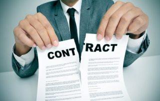 annuler contrat